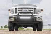 Ford F-150 97-03 Bull Bar w/ LED Light Bar Black