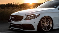 2015-2020 Mercedes (E-Class/C-Class/GLC-Class)(AWD) Air Lift Kit with Manual Air Management w/No Shocks