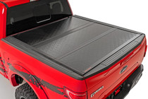 Ford Low Profile Hard Tri-Fold Tonneau Cover (17-20 Super Duty | 6.5' Bed )