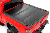 GM Low Profile Hard Tri-Fold Tonneau Cover (14-18 1500, 15-19 2500/3500 HD)