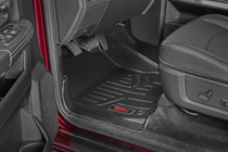 Heavy Duty Floor Mats (Front & Rear)-(12-18 Dodge Ram 1500) - view inside of vehicle