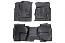Chevy/GMC Heavy Duty Floor Mats (Front&Rear)-(14-19 Silverado/Sierra)