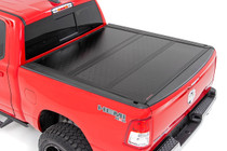 Dodge Low Profile Hard Tri-Fold Tonneau Cover (19-20 Ram 1500 Quad/Mega Cab)