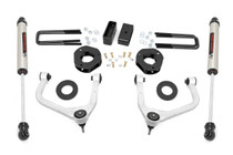 3.5in Suspension Lift Kit w/ Forged Upper Control Arms (19-20 GMC 1500 Pickup 4WD)- V2 Monotube Shocks
