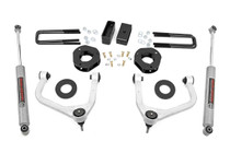 3.5in Suspension Lift Kit w/ Forged Upper Control Arms (19-20 Chevy 1500 Pickup 4WD)- N3 Shocks