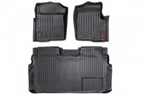 Heavy Duty Floor Mats (Front/Rear) - (09-12 Ford F-150 Supercrew Cab)