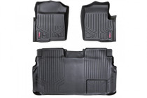 Heavy Duty Floor Mats (Front/Rear) - (11-14 Ford F-150 Supercrew Cab)