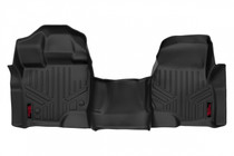 Heavy Duty Floor Mats (Front) - (15-20 Ford F-150) Bench Seats