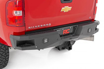 GM Heavy-Duty Rear LED Bumper (11-19 2500/3500) - displayed on a vehicle