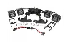 Chevy 2-IN LED Fog Light Kit (11-14 Silverado HD)