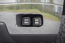 Chevy 2-IN LED Fog Light Kit (11-14 Silverado HD) - displayed on the vehicle