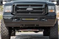 Ford 20IN LED Bumper Kit (05-07 F-250/F-350) - mounted day time view