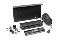 Universal 8IN LED License Plate Kit - Black Series