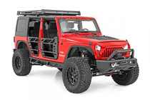 Jeep Angry Eyes Replacement Grille (07-18 Wrangler JK) - displayed on a vehicle