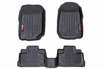 Jeep Heavy Duty Floor Mats (Front/Rear) - (14-18 Wrangler JK Unlimited)