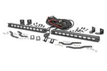 Ford Dual 10in LED Grille Kit (18-20 F-150   XLT) - Black
