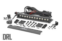 12-inch Cree LED Light Bar - (Signle Row | Black Series w/ Cool White DRL)