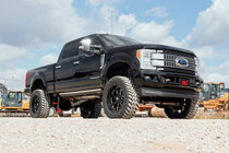 6IN Ford Suspension Lift Kit w/ Radius Arms (17-19 F-250/F-350 4WD | Diesel) vehicle side view