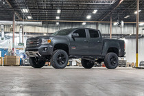 4in GM Suspension Lift Kit / Lifted Struts (15-21 Canyon/Colorado 2WD/4WD) vehicle angled view