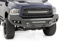 Ram Heavy-Duty Front LED Bumper (13-18 1500) front view