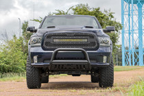 Dodge Mesh Grille w/30IN Dual Row Black Series LED (13-18 RAM 1500)