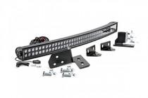 Ford 40-Inch Curved LED Light Bar Bumper Kit (11-16 F-250 Super Duty)