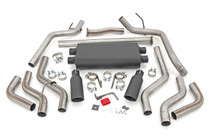 Dual Cat-Back Exhaust System w/ Black Tips (09-20 Toyota Tundra | V8 - 4.6L, 5.7L)