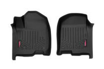 Heavy Duty Floor Mats (Front) - (19-20 Chevy Silverado/GMC Sierra | Crew Cab) - Bucket Seats