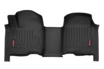 Heavy Duty Floor Mats (Front) - (19-20 Chevy Silverado/GMC Sierra | Crew Cab) - Bench Seats