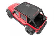 Jeep Wrangler JK Unlimited Mesh Bikini Top Plus (07-18 | 4-Door)