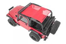 Jeep Wrangler TJ/YJ Mesh Bikini Top Plus (92-06) Red