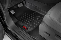 Heavy Duty Floor Mats (Front/Rear)(15-20 Chevy Colorado/GMC Canyon Crew Cab) front heavy duty floor mats installed view