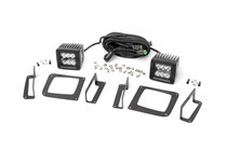 GMC 2-Inch Cree LED Fog Light Kit (Black Series | 14-15 Sierra 1500)