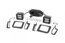 GMC 2-Inch Cree LED Fog Light Kit (Black Series   14-15 Sierra 1500)