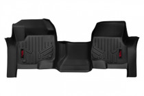 Heavy Duty Floor Mats (Front)(17-20 Ford Super Duty) Bench Seats