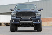 Dodge Mesh Grille (13-18 Ram 1500) displayed on vehicle