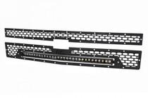 Chevy Mesh Grille w/ 30 IN Black Series LED (14-15 Silverado 1500)