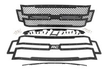 Ford Mesh Grille w/ Dual 12IN Black-Series LEDS (17-19 Super Duty)