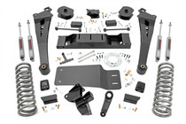 5IN Dodge Suspension Lift Kit | Coil Springs | Radius Arms (19-21 Ram 2500 4WD/Diesel)