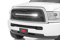 Dodge Mesh Grille w/ 30in Dual Row Black Series LED (13-18 RAM 2500/3500)
