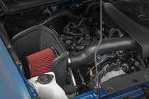 Toyota Cold Air Intake (16-20 Tacoma | 3.5L] mounted inside the vehicle view