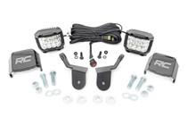 Honda Dual LED Cube Kit (16-20 Pioneer) - 3in Osram Wide Angle Series