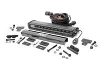 Can-Am Defender 12-in Recessed Bumper LED Kit (16-20 Defender) - Black Series