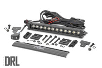 Can-Am Defender 12-in Recessed Bumper LED Kit (16-20 Defender) - Black Series w/ White DRL