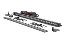 Mahindra 30-inch LED Hood Kit (19-20 Roxor) - Black Series w/ White DRL