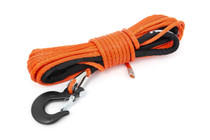 1/4IN Synthetic Winch Rope | UTV, ATV - Orange