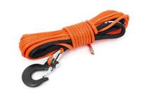 1/4IN Synthetic Winch Rope | UTV, ATV - Orange