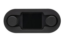 HDX/RTX Style Climate Controls Air Gen-IV Black Bezel with Black Alloy