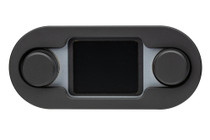 HDX/RTX Style Climate Controls Air Gen-IV Black Bezel with Silver Alloy