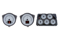 1968-1977 Chevy Corvette HDX Instruments with Silver Alloy Background